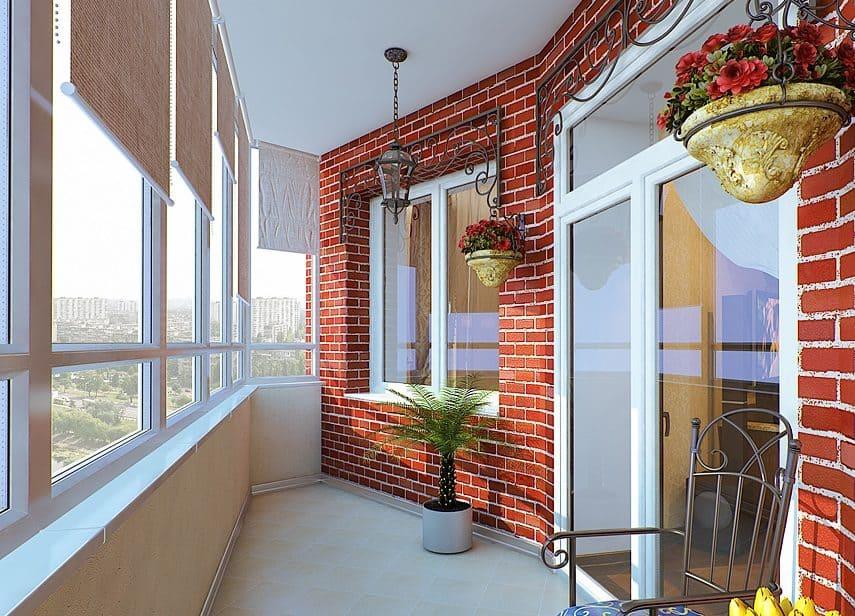 Тёплое остекление окон на балконах ПВХ профилем в разных расцветках