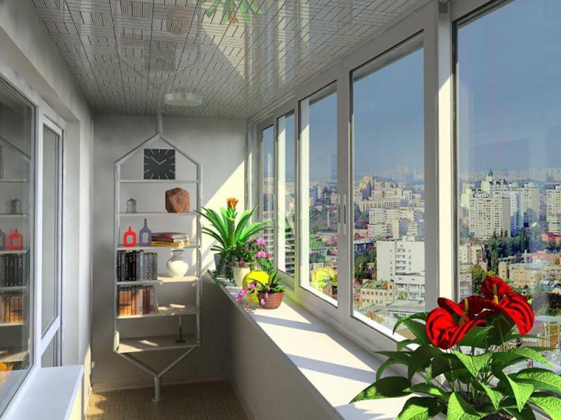 Пластиковое остекление балконов и лоджий