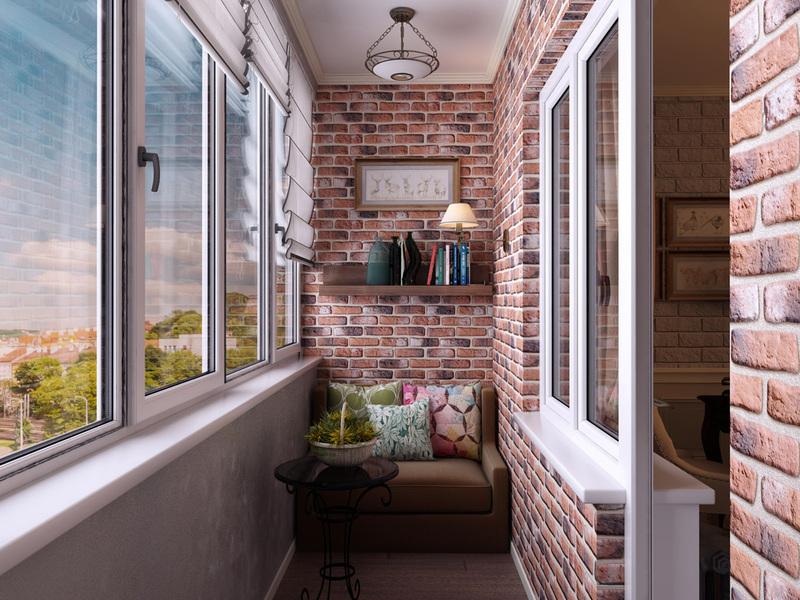 Внешняя и внутренняя обшивка лоджии и балкона - качественно, престижно, долговечно