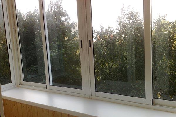 Распашные окна (холодные и полутеплые)