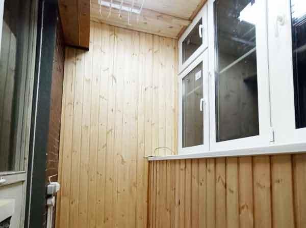 Остекление и отделка балкона г. Москва, ул Волжский бульвар д. 114а корп. 3